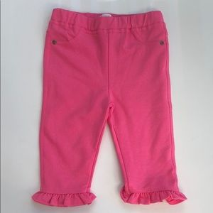 NWT Mudpie pink sparkly pants